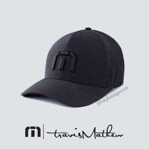 🆕 Travis Mathew Black Top Shelf Hat